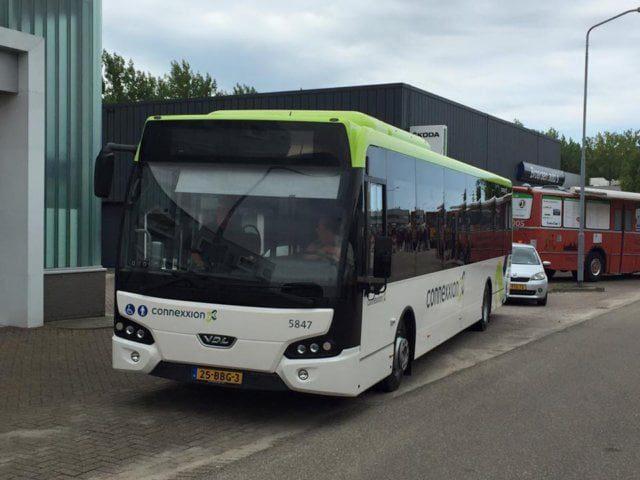 Eerste informatie Dienstregeling Connexxion Openbaar Vervoer Hoeksche ...
