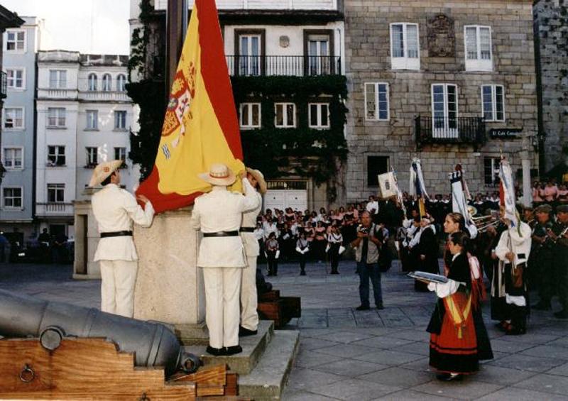 Homenaje a la Bandera