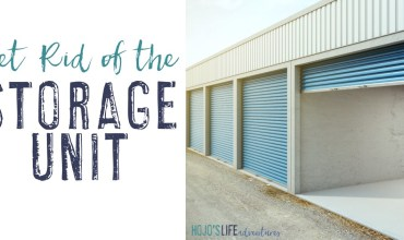 Get Rid of the Storage Unit with Six Easy Steps