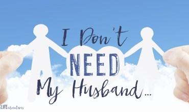 I Don't Need My Husband