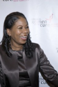 Dr. Dara Richardson-Heron, CEO of The Greater New York City Affiliate of Susan G. Komen for the Cure