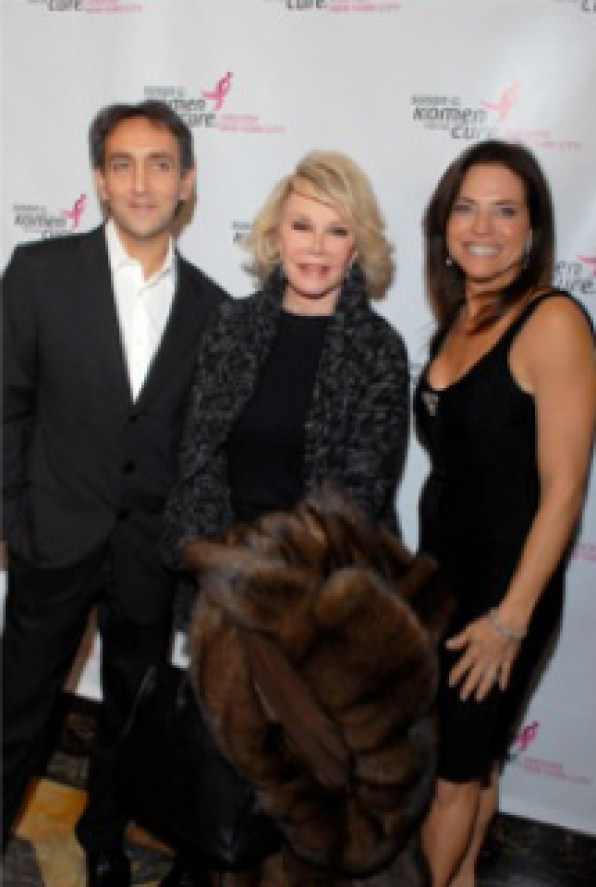 Stephan Sparta, Joan Rivers, Iris Dankner