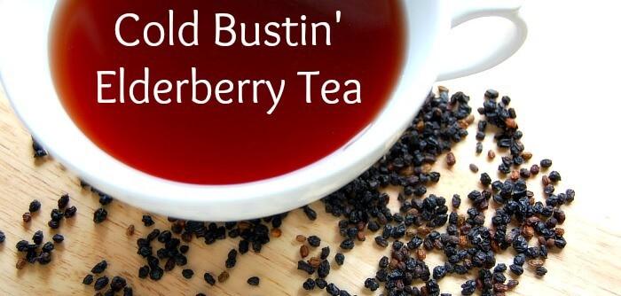 how to make elderberry tea