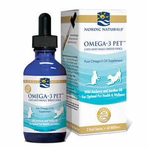 Nordic Naturals Omega 3 Pet   Fish Oil For Cats & Small Dogs   2 oz
