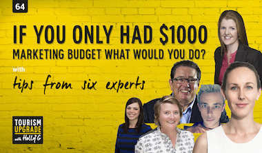 If you only had a $1000 marketing budget, what would you spend it on? Part 1 (Episode #64)