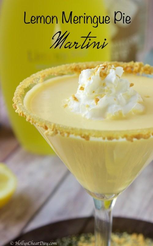 Medium Of Key Lime Pie Martini