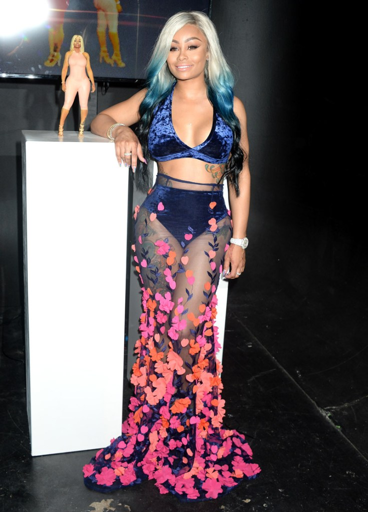 Mandatory Credit: Photo by Broadimage/REX/Shutterstock (9008774a) Blac Chyna Blac Chyna figurine doll launch party, Los Angeles, USA - 17 Aug 2017 Launch Party for Blac Chyna's Figurine Doll