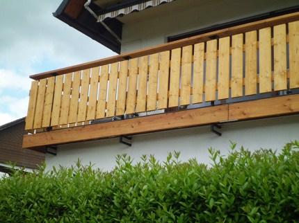 Balkon konstruktiver Holzschutz