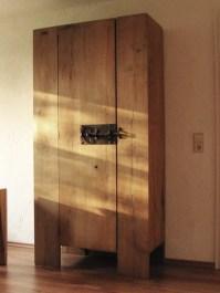 Schrank, rustikal, modern