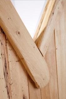 Handwerkliches Detail, Holz