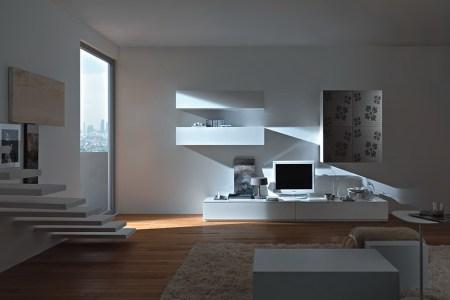 modern wall units from momentoitalia
