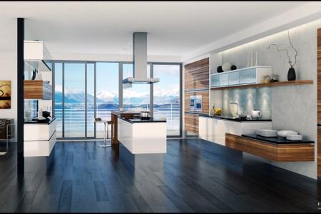 beautiful kitchen design by feg