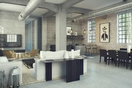3 industrial interior design