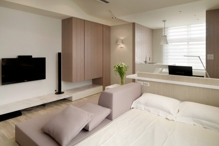 2 studio apartment layout