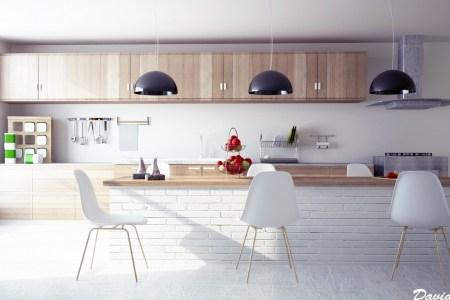 6 modern wooden kitchen