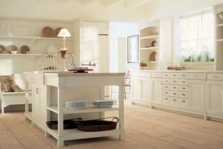 cream country kitchen decor