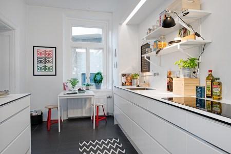 galley kitchen decor