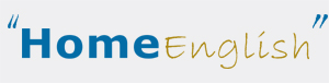 Home English logo