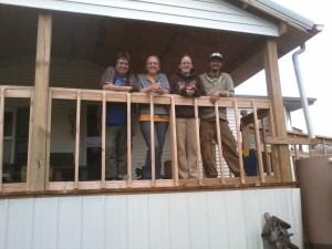 Kathy, Jeri, Alison, and Aaron