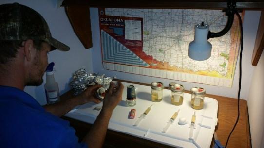 Inoculating jars