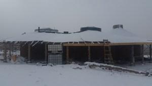Snow at Home Farm