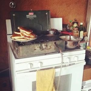 biogas campstove breakfast free energy