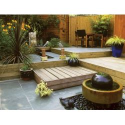 Sweet Small Backyards A Small Backyard Homesource Outdoor Patio Ideas Small Backyards Outdoor Living Ideas Divide Space Small Big Landscaping outdoor Outdoor Ideas For Small Backyards