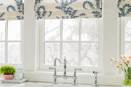 kitchen window fabric. kitchen window fabric ideas. kitchen window roman shades fabric. kitchen window roman shades fabric fabric is duralee 21037 prasana