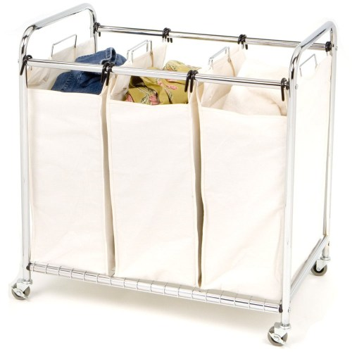 Medium Crop Of Rolling Laundry Basket