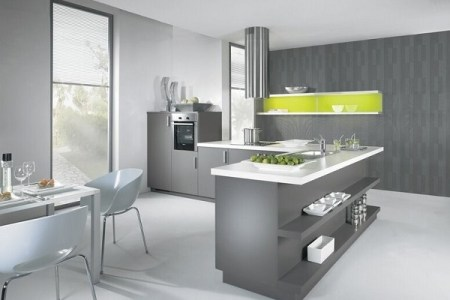 beautiful grey kitchen photos