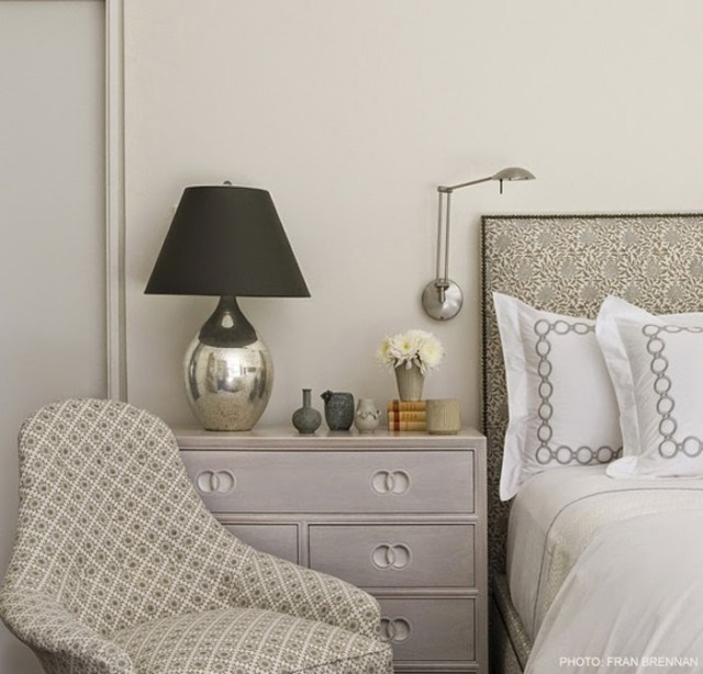 Monochromatic Grey Bedroom