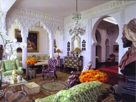Moorish architecture arches in home design for Moorish homes
