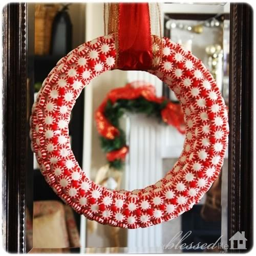 Peppermint Candy Wreaths