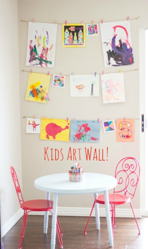 Kids Art  Area