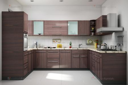 u shaped kitchen interior design