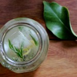 LEMON & THYME CORDIAL {honey sweetened}