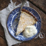 {GUEST POST} Petite Kitchen: Lemon & Coconut Tart with Buckwheat & Almond Crust
