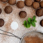 RAW CHOCOLATE MINT TRUFFLES