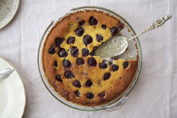 Cherry & Hazelnut Clafoutis | HOMEGROWN KITCHEN