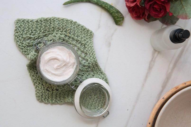Handmade Rose & Aloe Vera Deodorant   HOMEGROWN KITCHEN