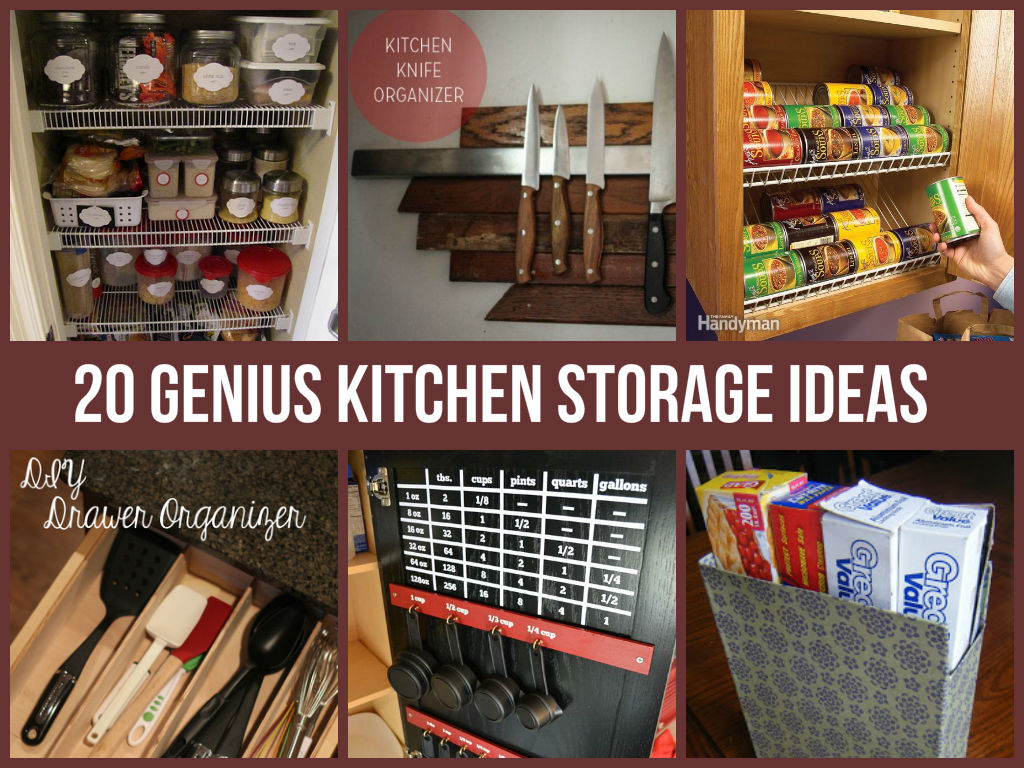 20 genius kitchen storage ideas kitchen organization ideas 20 Genius Kitchen Storage Ideas