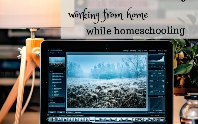 A Note for Moms Who are Considering Working from Home While Homeschooling