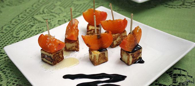 canape-de-caqui-e-queijo-coalho
