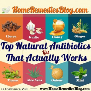 Top 20 Proven Natural Antibiotics That Actually Works