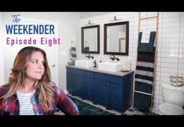 Builder Grade to Bold Bathroom Transformation