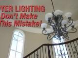 The Key Tip in Selecting Foyer Lighting