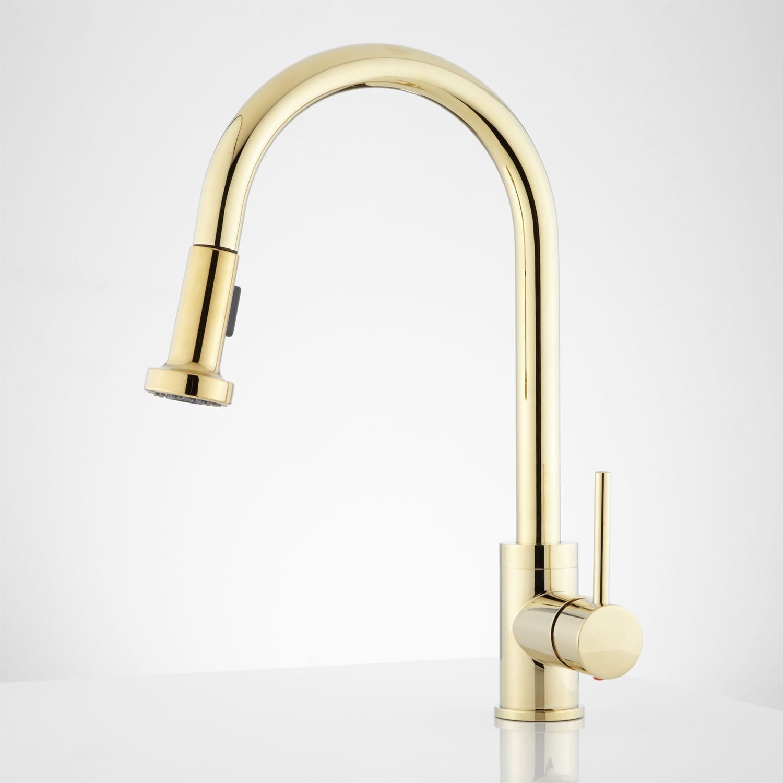 brass kitchen faucet brass kitchen faucet Polished Brass Kitchen Faucet