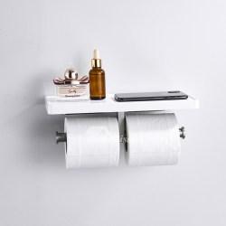 Small Crop Of White Shelf For Bathroom