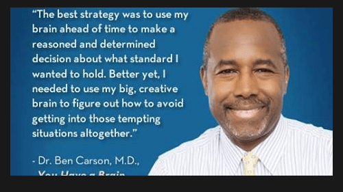 TOP 25 QUOTES BY BENJAMIN CARSON (of 349)   A-Z Quotes