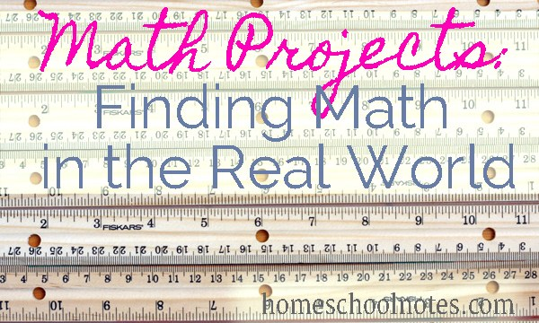 Math Projects: Finding Math in the Real World